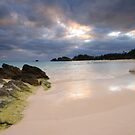 Evening on Horseshoe Bay, Bermuda by Lucy Hollis
