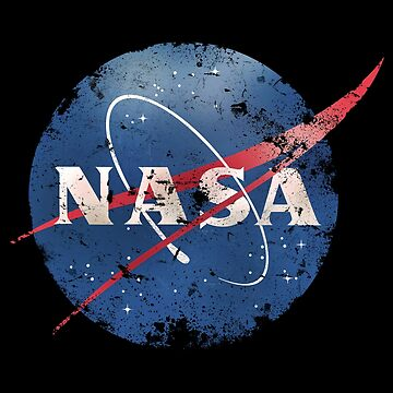 Nasa Logo - eroded - old - vintage - Space by carlosafmarques