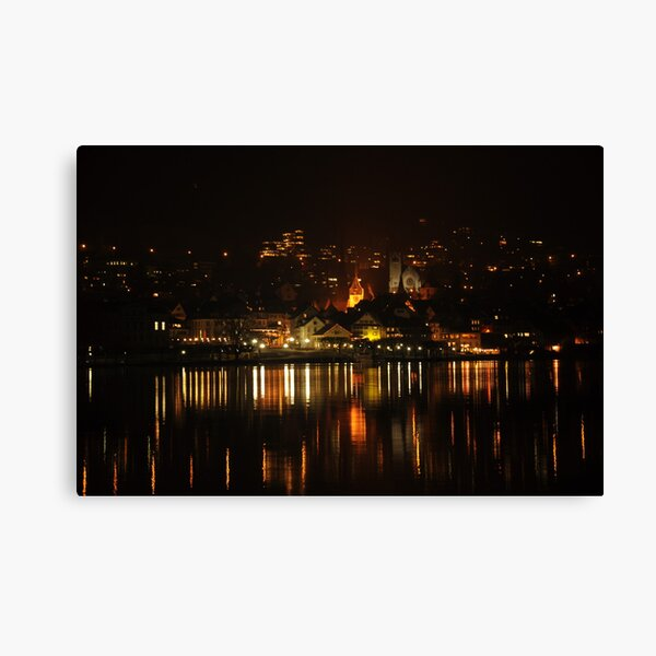 Magical Lights Canvas Print