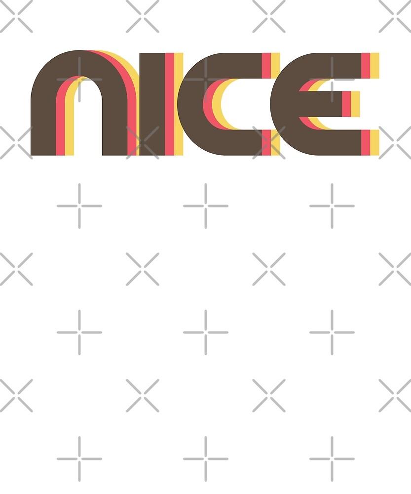 Retro Nice T-Shirt by designkitsch