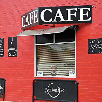 Minimal cafe by kllebou