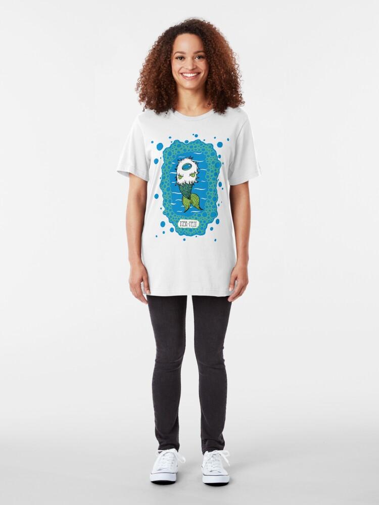 Alternate view of The Mer-Yeti Slim Fit T-Shirt