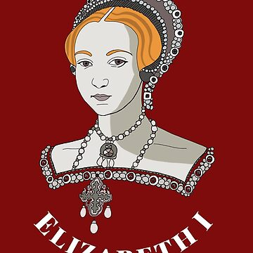 Elizabeth I Virgin Queen of England Young Bess by emmafifield