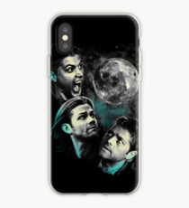 The Mountain Team Free Will Moon - Supernatural Edition iPhone Case