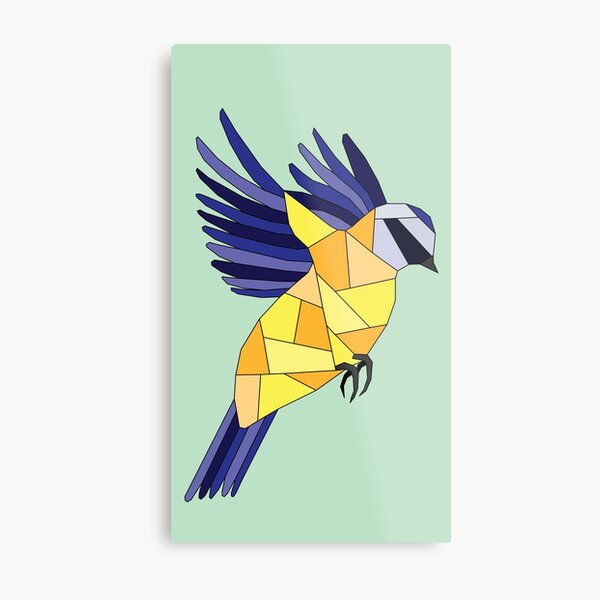 British Birds - Blue Tit Metal Print
