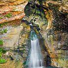 Rock Mill Falls by Kenneth Keifer