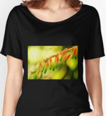 red-green lanterns Women's Relaxed Fit T-Shirt
