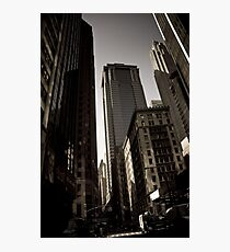 Crosswalk - Financial Square Photographic Print