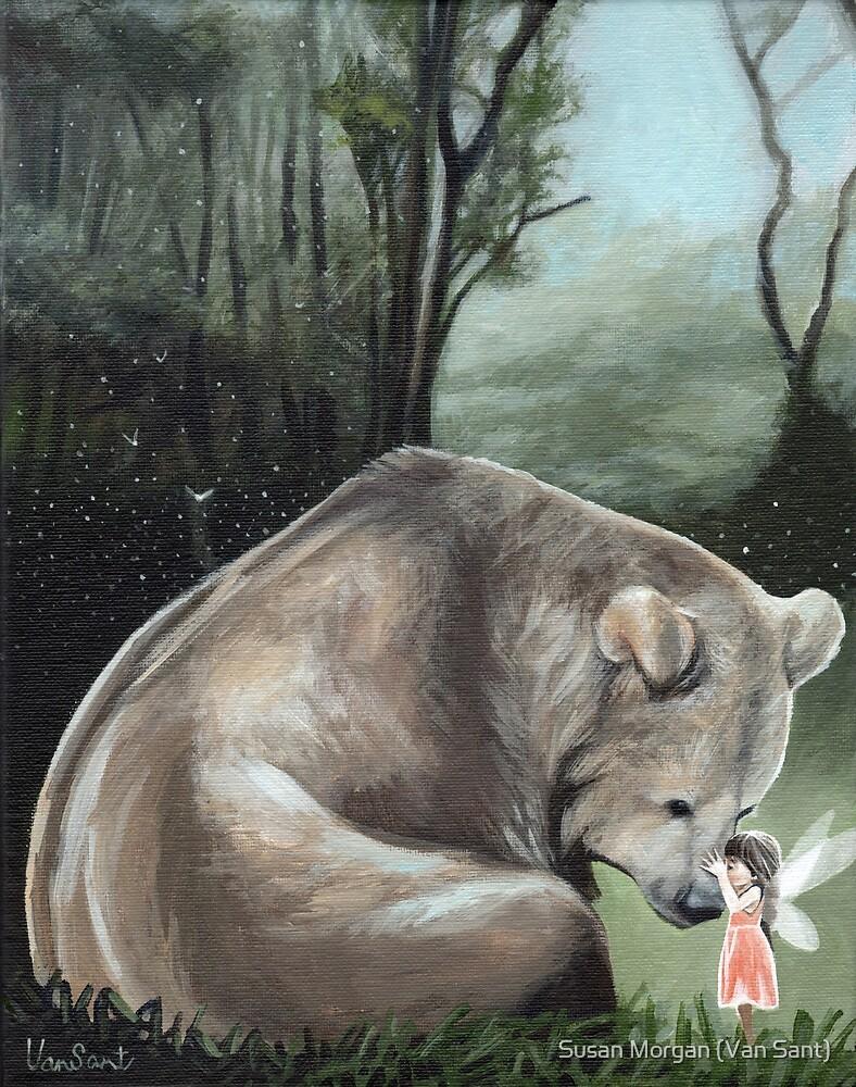 Kisses For Brother Bear by Susan Morgan (Van Sant)
