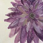 Lila Blume von artbycaseylh