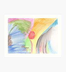 Breast-scape Art Print