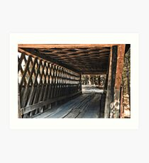 Easley Covered Bridge Art Print