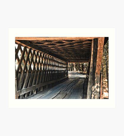 Easley Covered Bridge Art Print