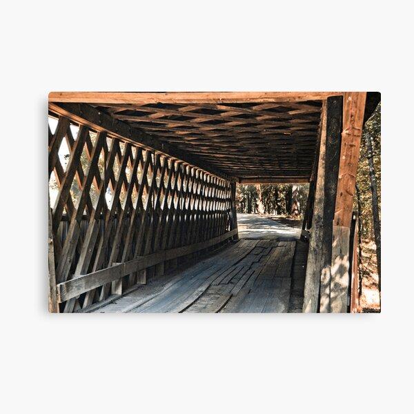 Easley Covered Bridge Canvas Print