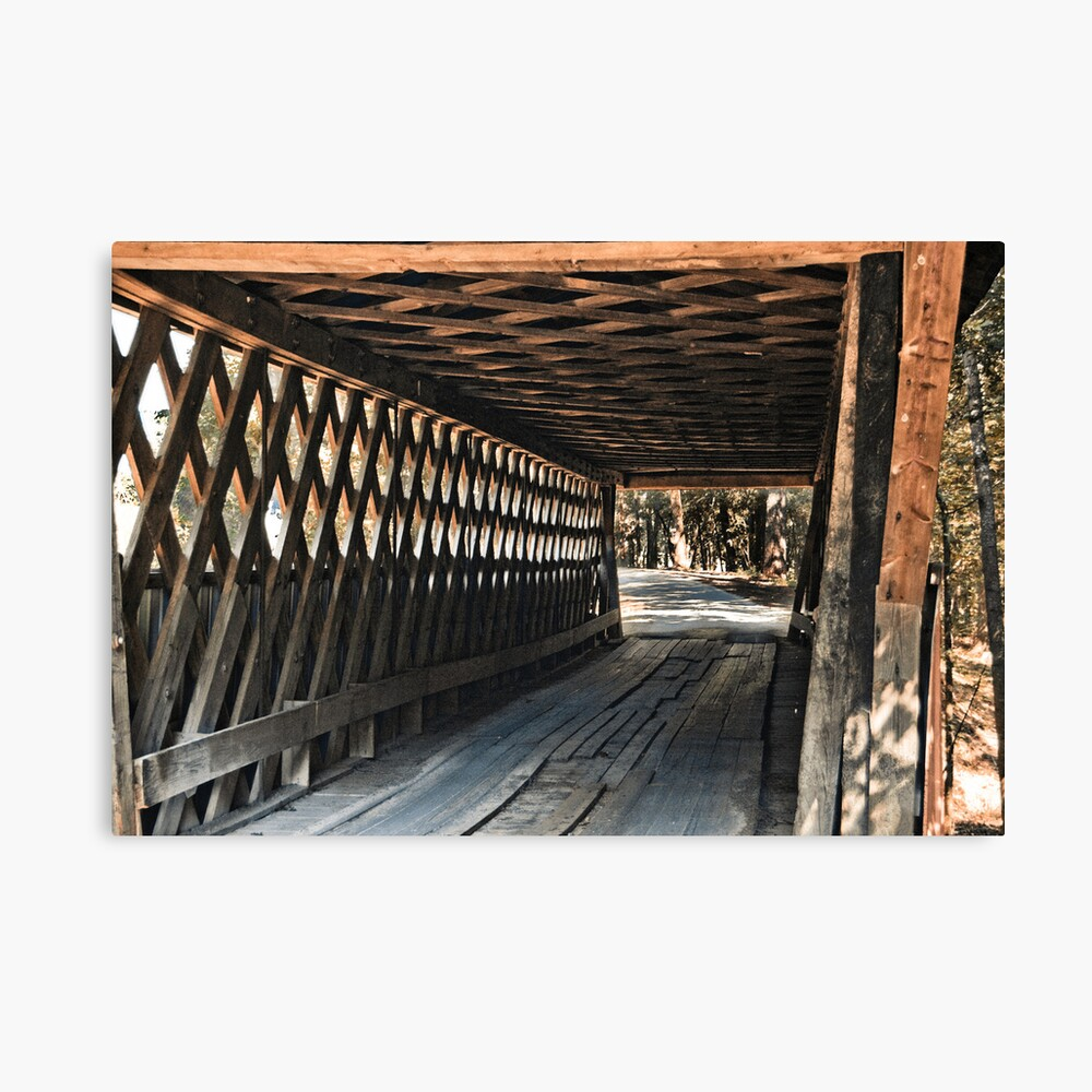Easley Covered Bridge Canvas Print