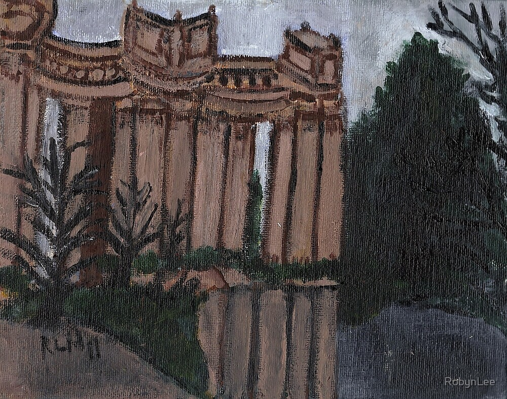 Palace of Fine Arts-San Francisco by RobynLee