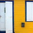 Door, Window, St. Barts by fauselr