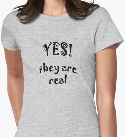 YES - they are real T-Shirt