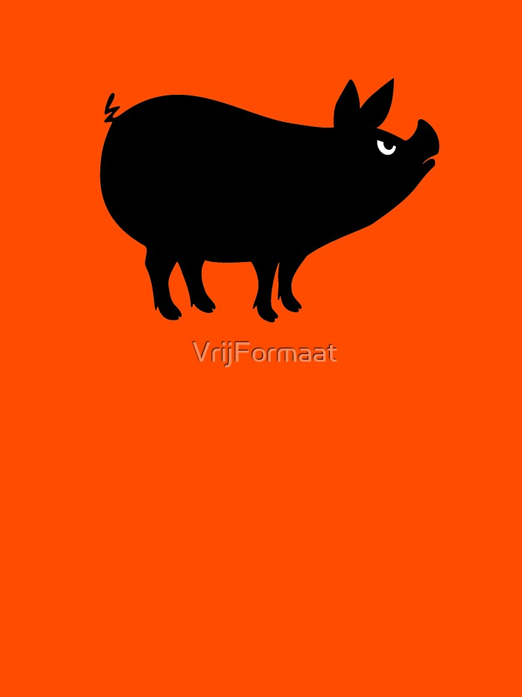 Angry Animals: Piggy by VrijFormaat