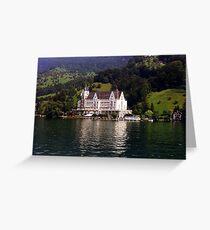 The Park Hotel Vitznau - Lake Lucerne Greeting Card