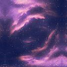 Starry nebula clouds by AnnArtshock