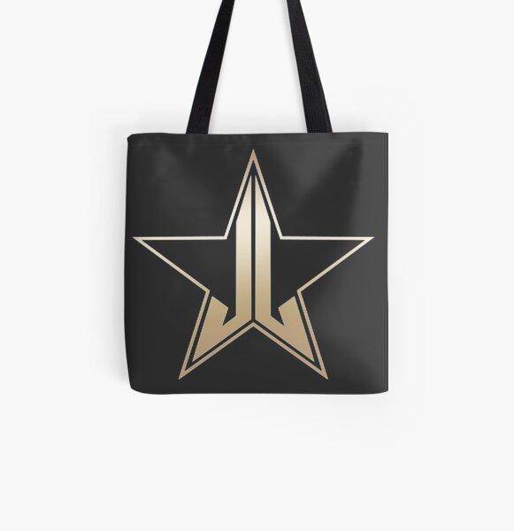 Jeffree Star Cosmetics-Logo Allover-Print Tote Bag
