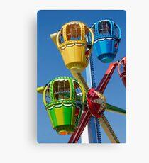 Fairground Ferris Ride Canvas Print