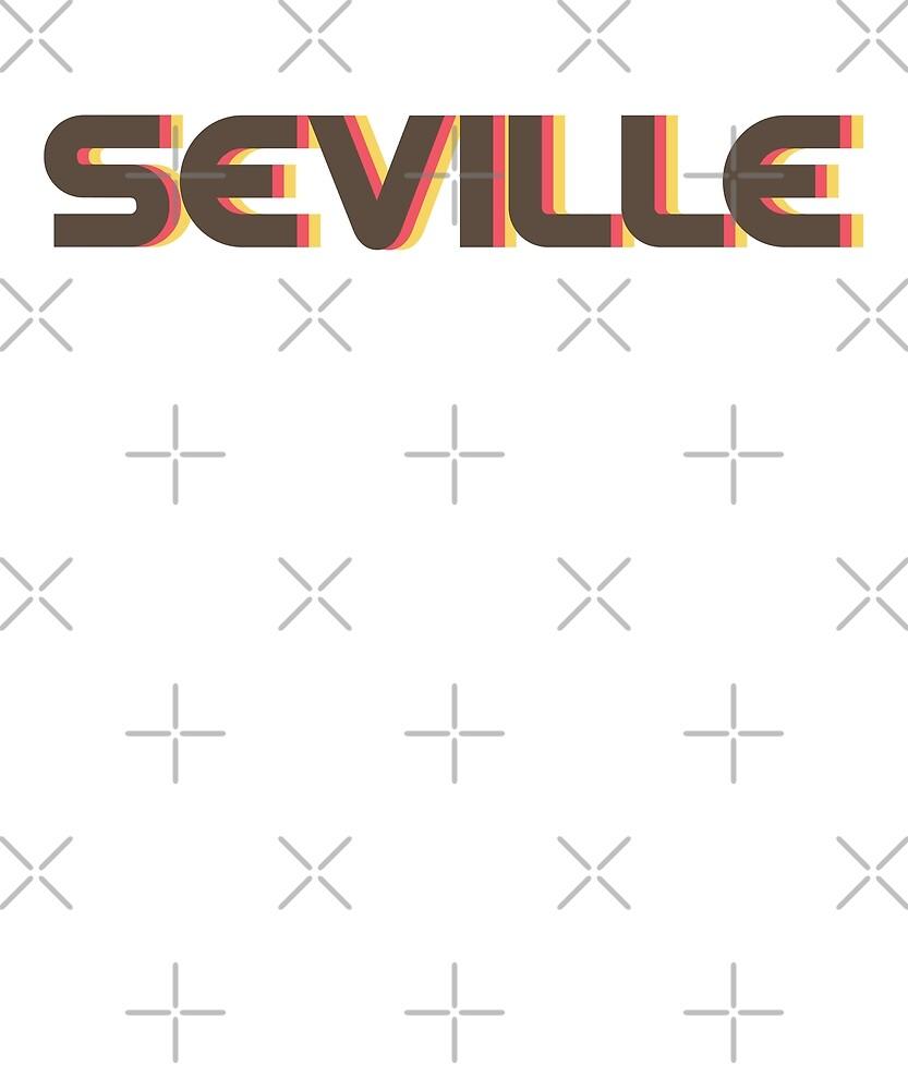 Retro Seville T-Shirt by designkitsch