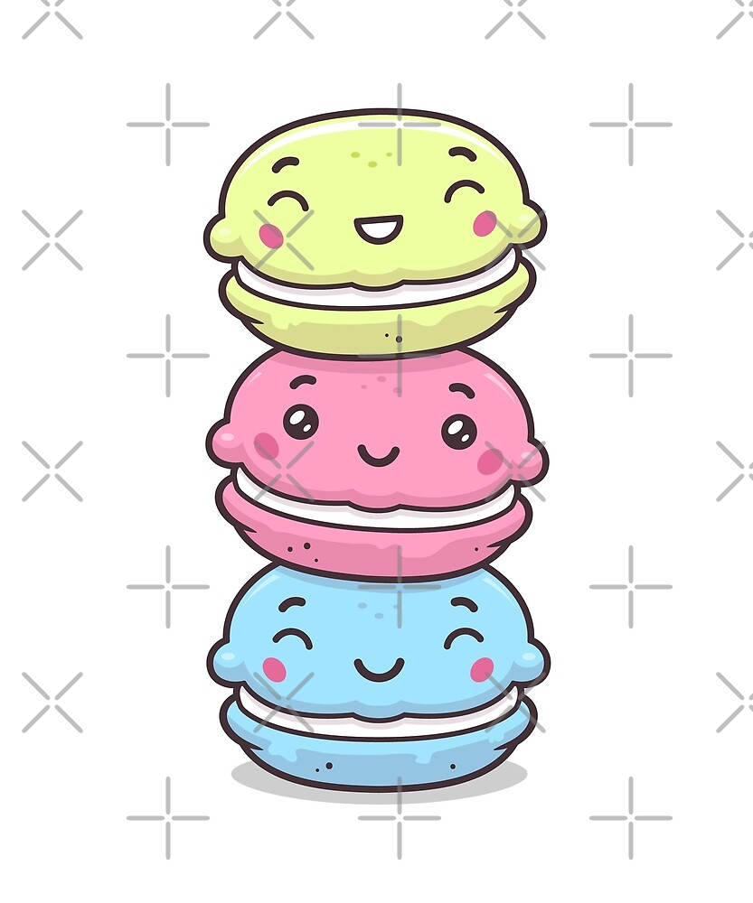 Cute Macarons by zoljo