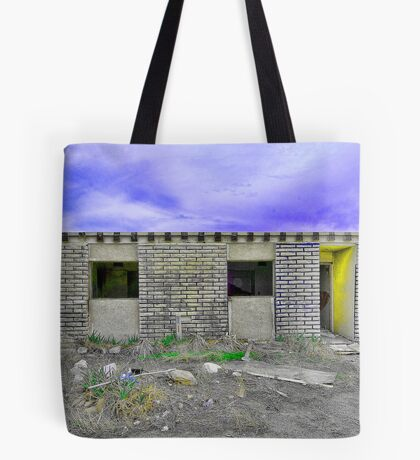 Abandoned Hotel Tote Bag
