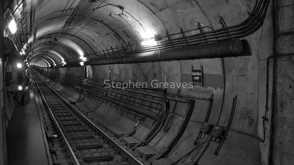 Empty Tunnel by Stephen Greaves