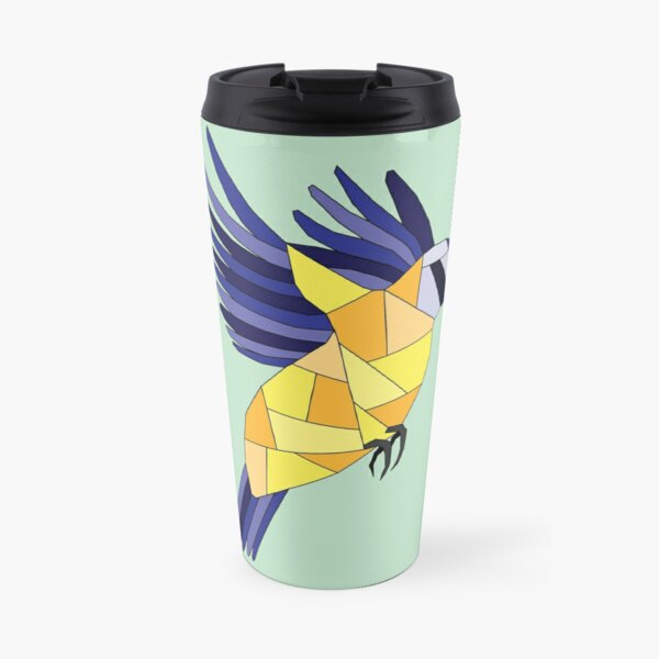 British Birds - Blue Tit Travel Mug