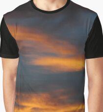 Firy December Sunset Graphic T-Shirt