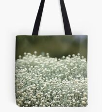 White fields Tote Bag