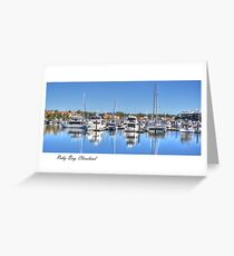 """Raby Reflections"", Raby Bay, Cleveland, Australia Greeting Card"
