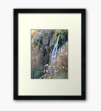 Romantic Waterfalls Framed Print