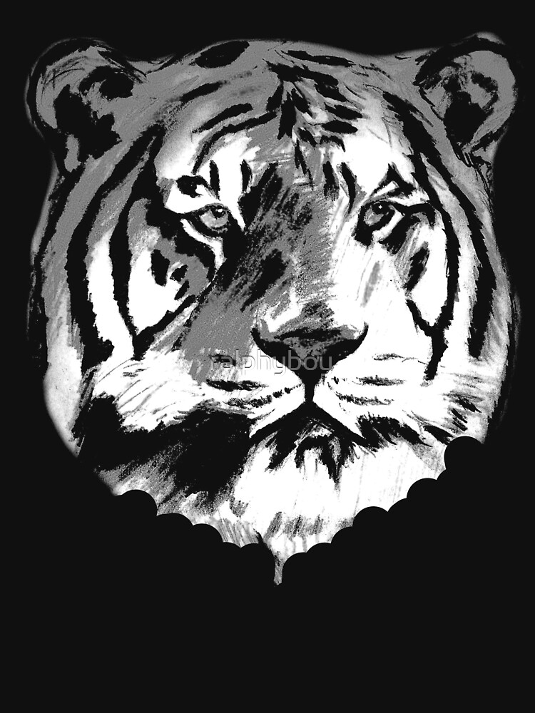 tiger t-shirt by ralphyboy