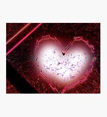 exploding love Photographic Print
