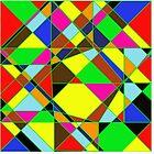 Abstraktes Gemälde von roggcar
