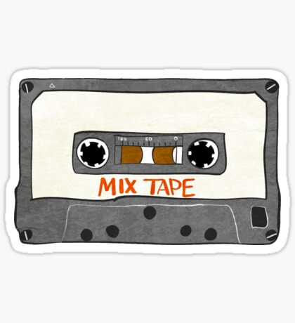 Personalized I made a mix tape for you Sticker