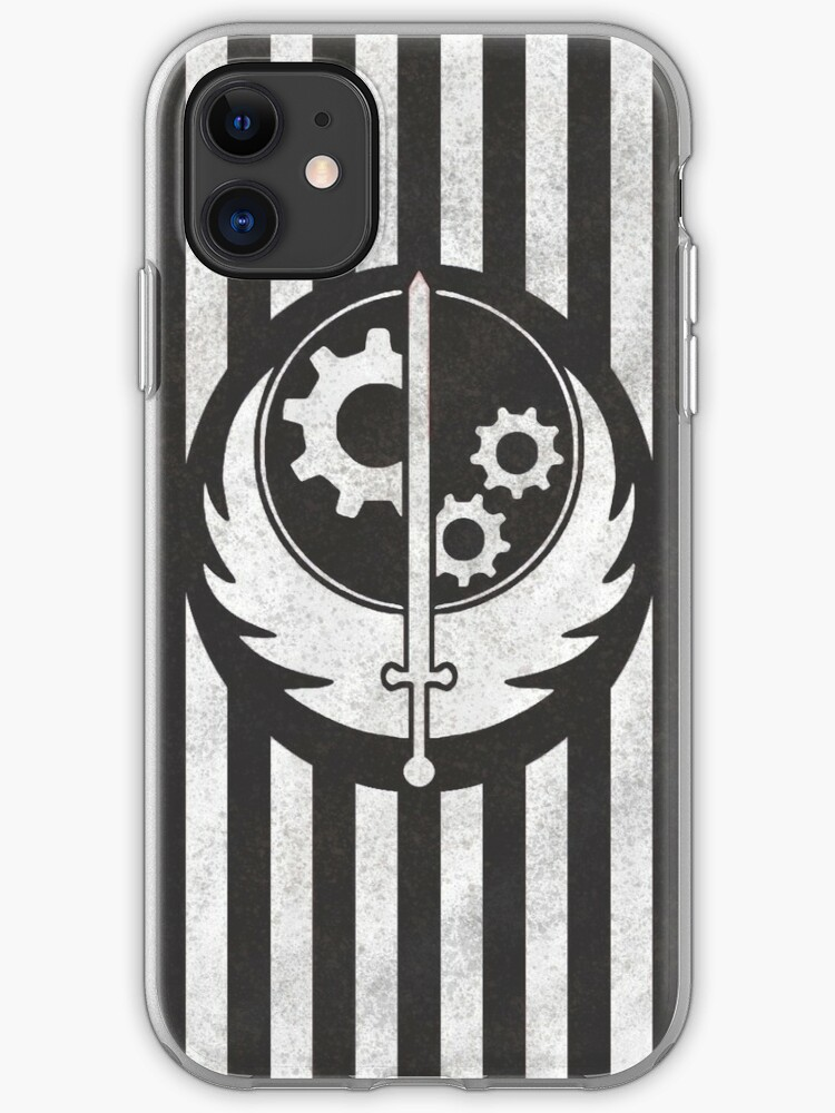 Brotherhood Of Steel Emblem iphone case