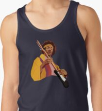 Hendrix Vector Art Men's Tank Top