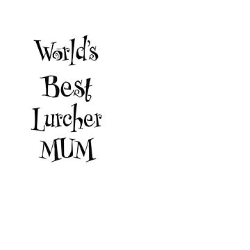 Lurcher mum by CharlyB