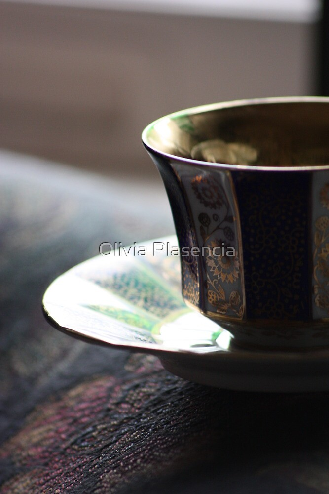 Mother's Tea Cup by Olivia Plasencia