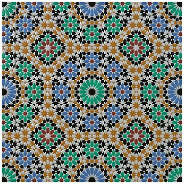 Moroccan Zellige Mosaic by Girih