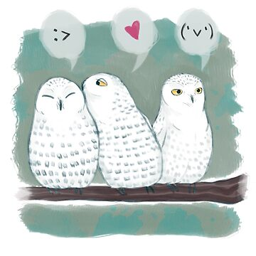 Snowy Owls by Kuvolviski