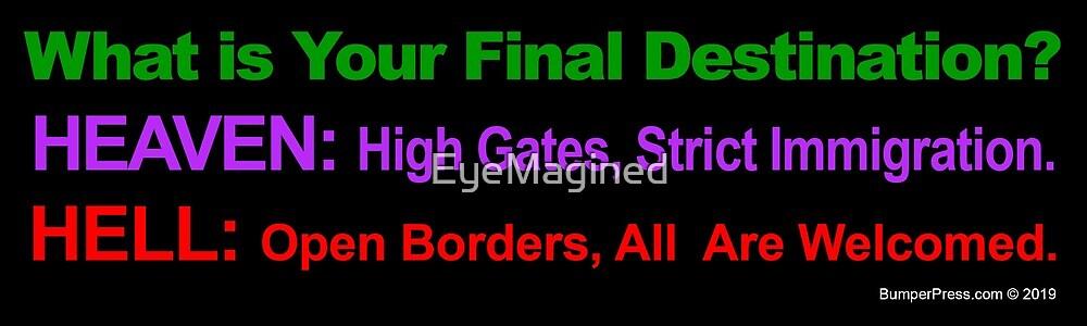 Final Destinations by EyeMagined
