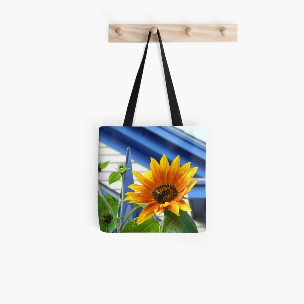 Bees & Sunflowers Tote Bag