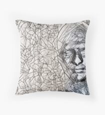 A-MAZE-ing Man! Throw Pillow