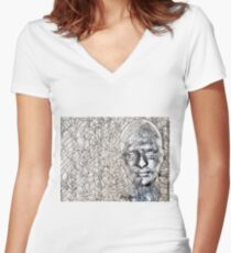 A-MAZE-ing Man! Fitted V-Neck T-Shirt